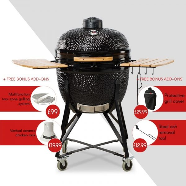 Kamado Bono Grande Limited Ceramic Barbeque Grill -min