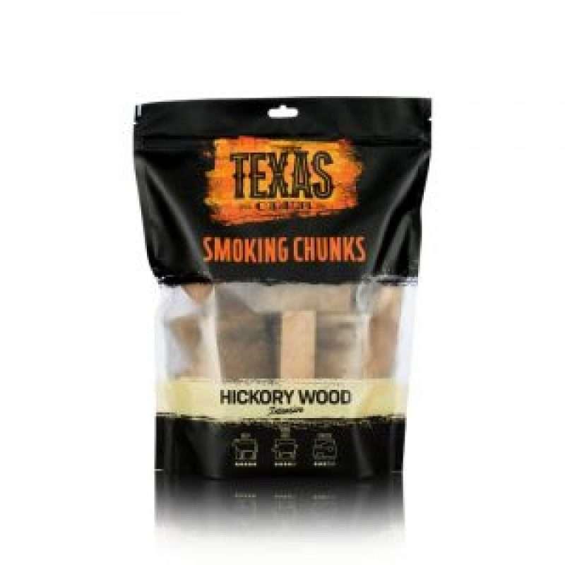 Texas Club Hickory wood smoking chunks, 1 kg.