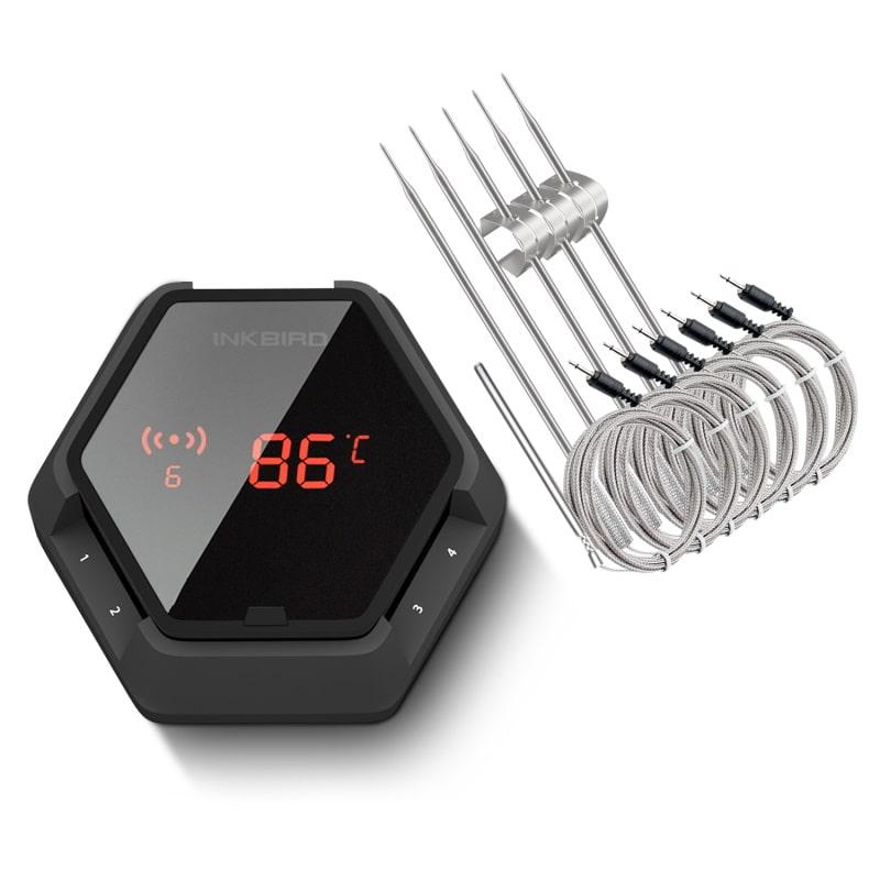 IBT-6XS 6 probe digital thermometer