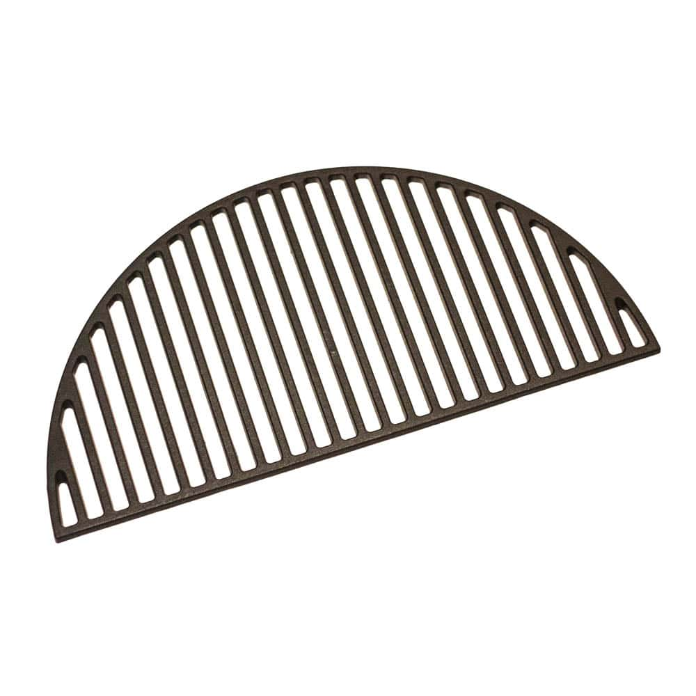 Cast iron grate for multifunctional dual zone system (Media)