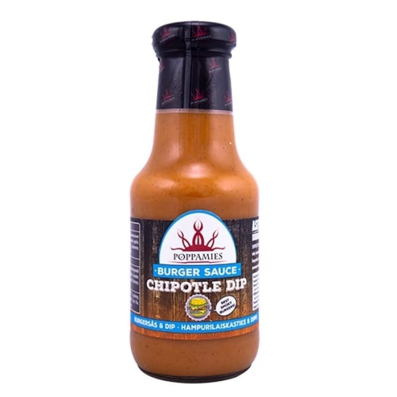 Poppamies Chipotle DIP Burger Sauce, 320 g.