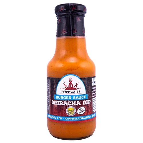 Poppamies Sriracha DIP Burger Sauce, 320 g.
