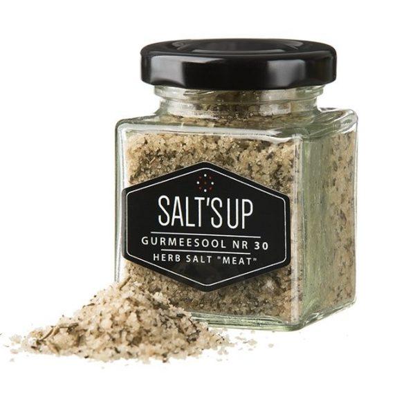 Kamado Kings Herb Meat Salt MIX salt with herbs