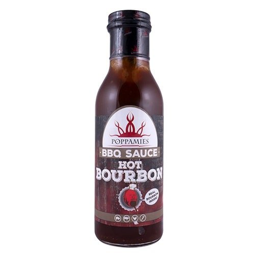 Kamado Kings Poppamies Hot Bourbon sauce-marinade 410 g.