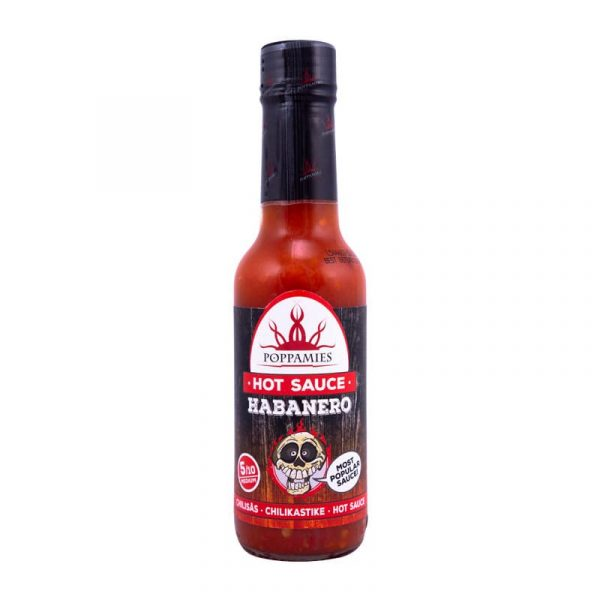 Kamado Kings Habanero hot sauce-marinade