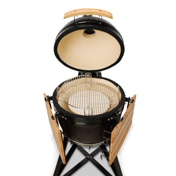 Kamado Bono Media Ceramic Barbeque Grill 4-min