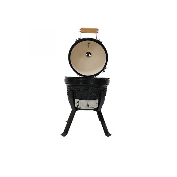 Kamado Bono Picnic Ceramic bbq Picnic Grill Best For Outdoor (15)-min