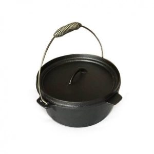 Kamado Kings Dutch Oven cast iron pot with lid, 4 l.-min