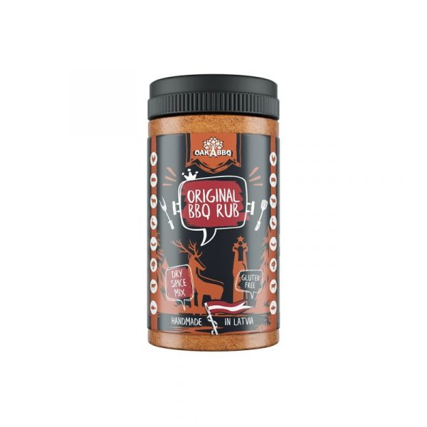 Kamado Kings Oak A Original BBQ rub