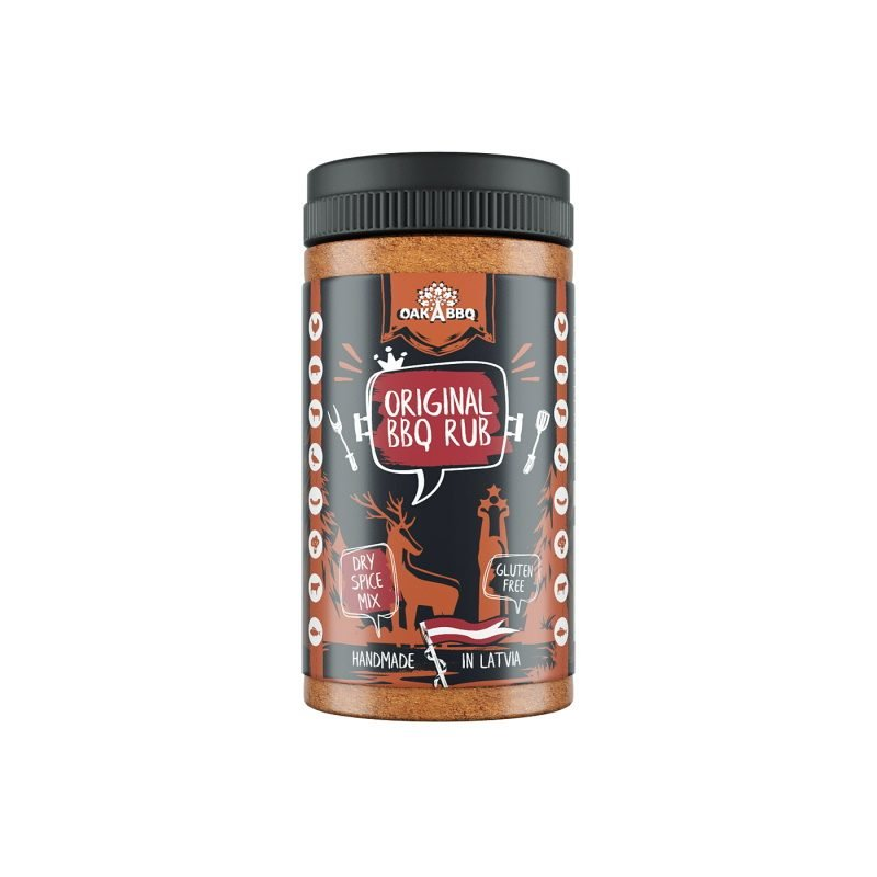 Oak'A Original BBQ spice mix, 190 g.