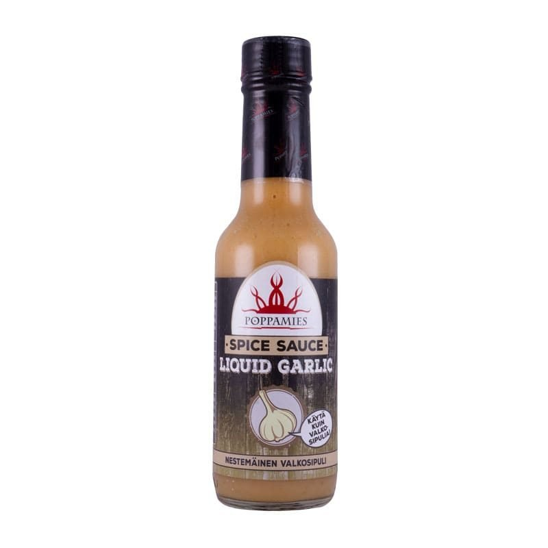 Poppamies Liquid Garlic, 150 ml.