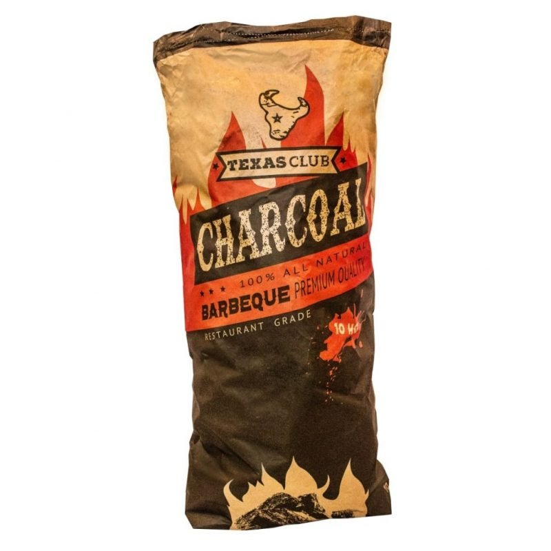 Texas Club charcoal, 10 kg.