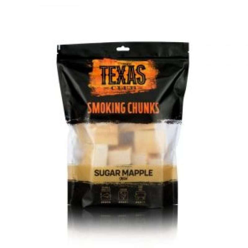 Texas Club Sugar maple smoking chunks, 1 kg.