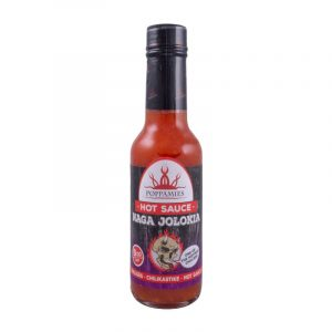 Kamado Kings Naga Jolokia hot sauce-marinade