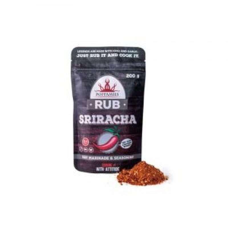 Poppamies SRIRACHA RUB seasoning, 200 g.
