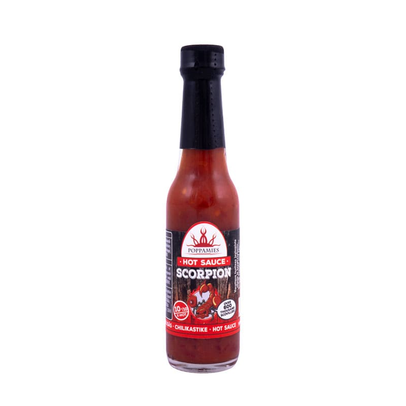 Poppamies Scorpion hot sauce-marinade, 60 ml.