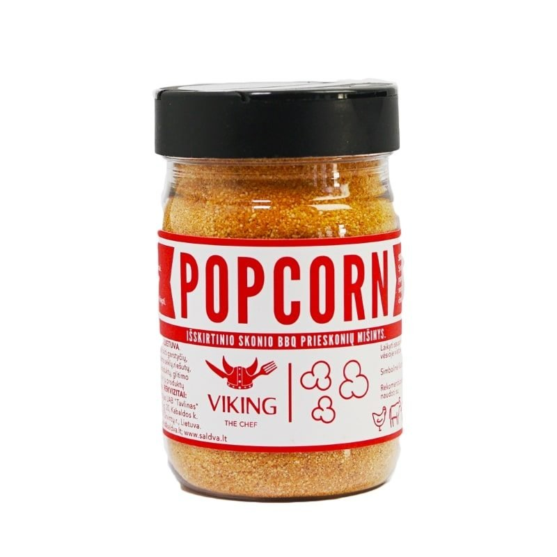 "VIKING THE CHEF ""Popcorn"" seasoning, 85g."