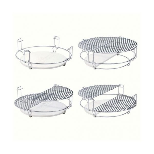 Kamado Kings Multifunction two-zone grilling system (Grande Limited)