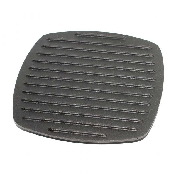 Kamado Kings Cast iron grill press 210x210 mm.