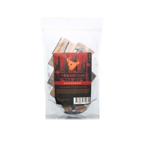 Kamado Kings Rum barrel smoking blocks, 15 pcs