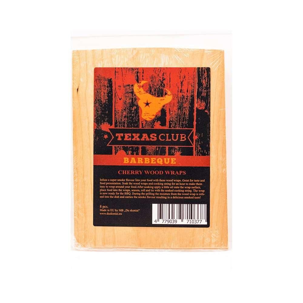 BBQ Wrap cherry wood paper, 15x20cm (8pcs)