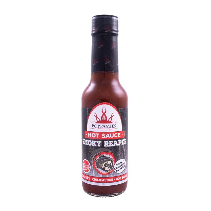Poppamies Smoky Reaper Chilli Sauce, 150ml.
