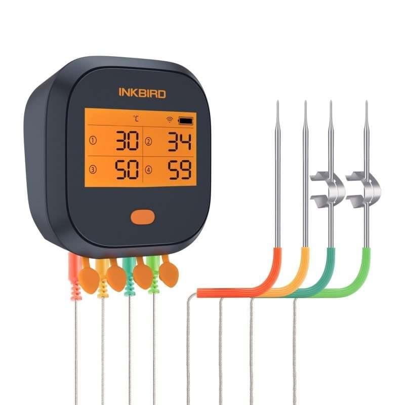 INKBIRD Wi-fi IBBQ-4T Thermometer