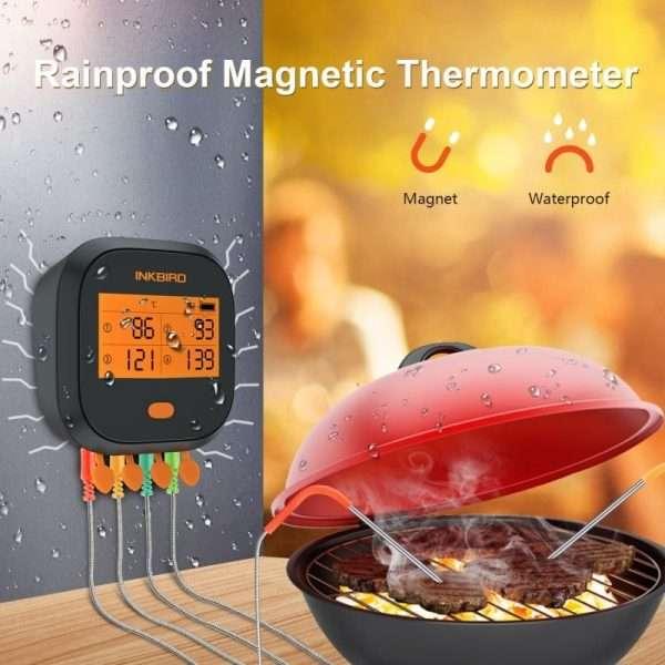 INKBIRD IBBQ-4T Wifi Thermometer 4-min