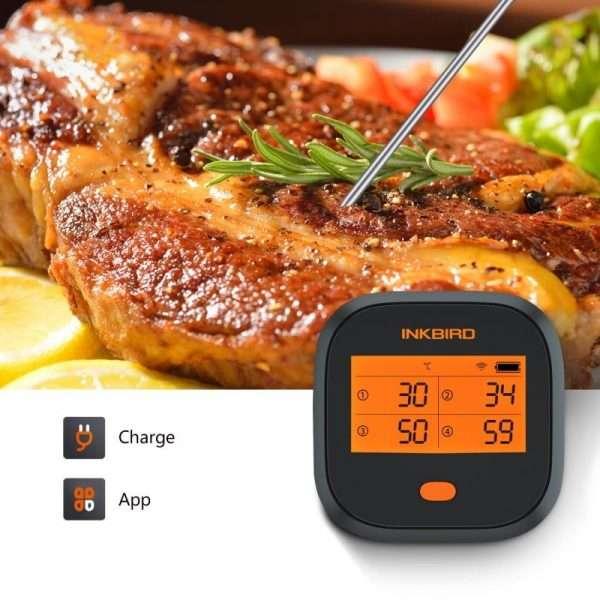 INKBIRD IBBQ-4T Wifi Thermometer 5-min