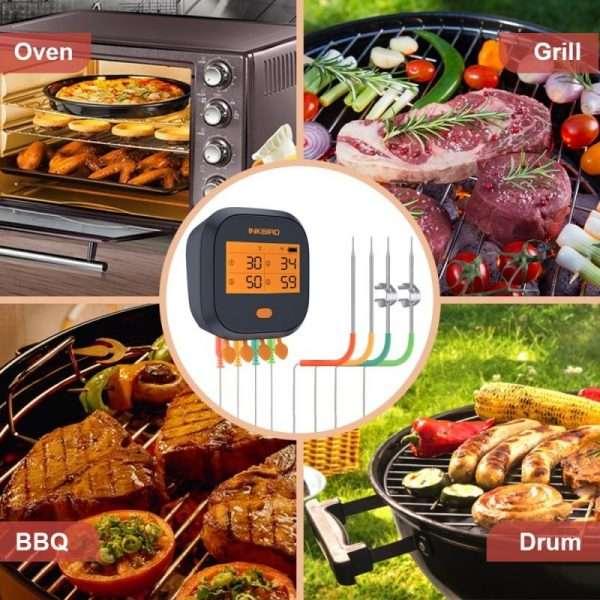 INKBIRD IBBQ-4T Wifi Thermometer 6-min