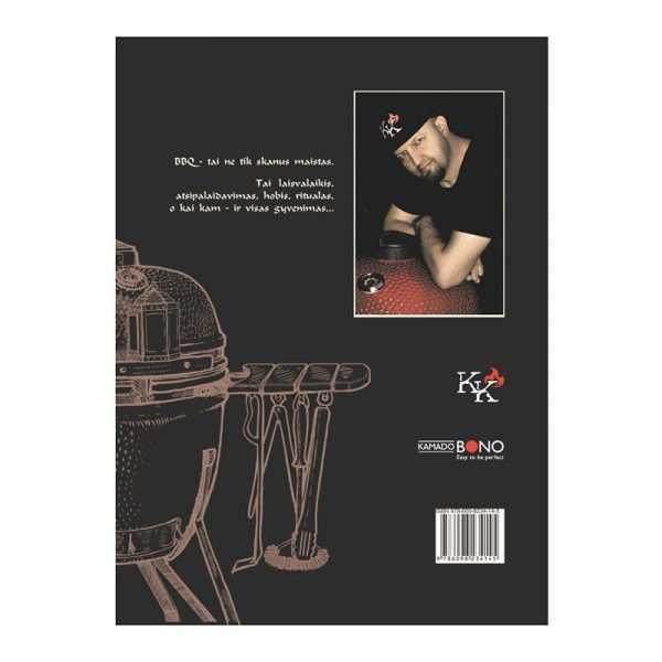 Kristupas Krivickas Recipe Book Broliu Griliu Pasakojimai(Lithuanian Langugage)1-min