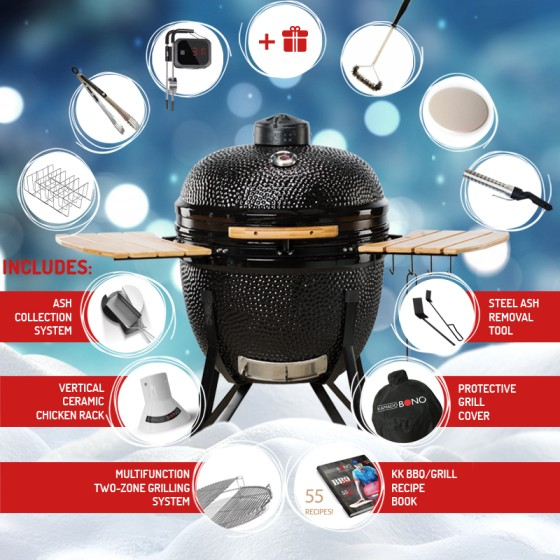 Kamado Bono Ceramic Barbecue Grill UK
