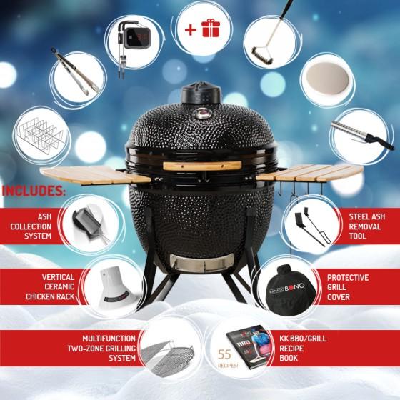 Kamado Bono Ceramic Barbecue Grill UK