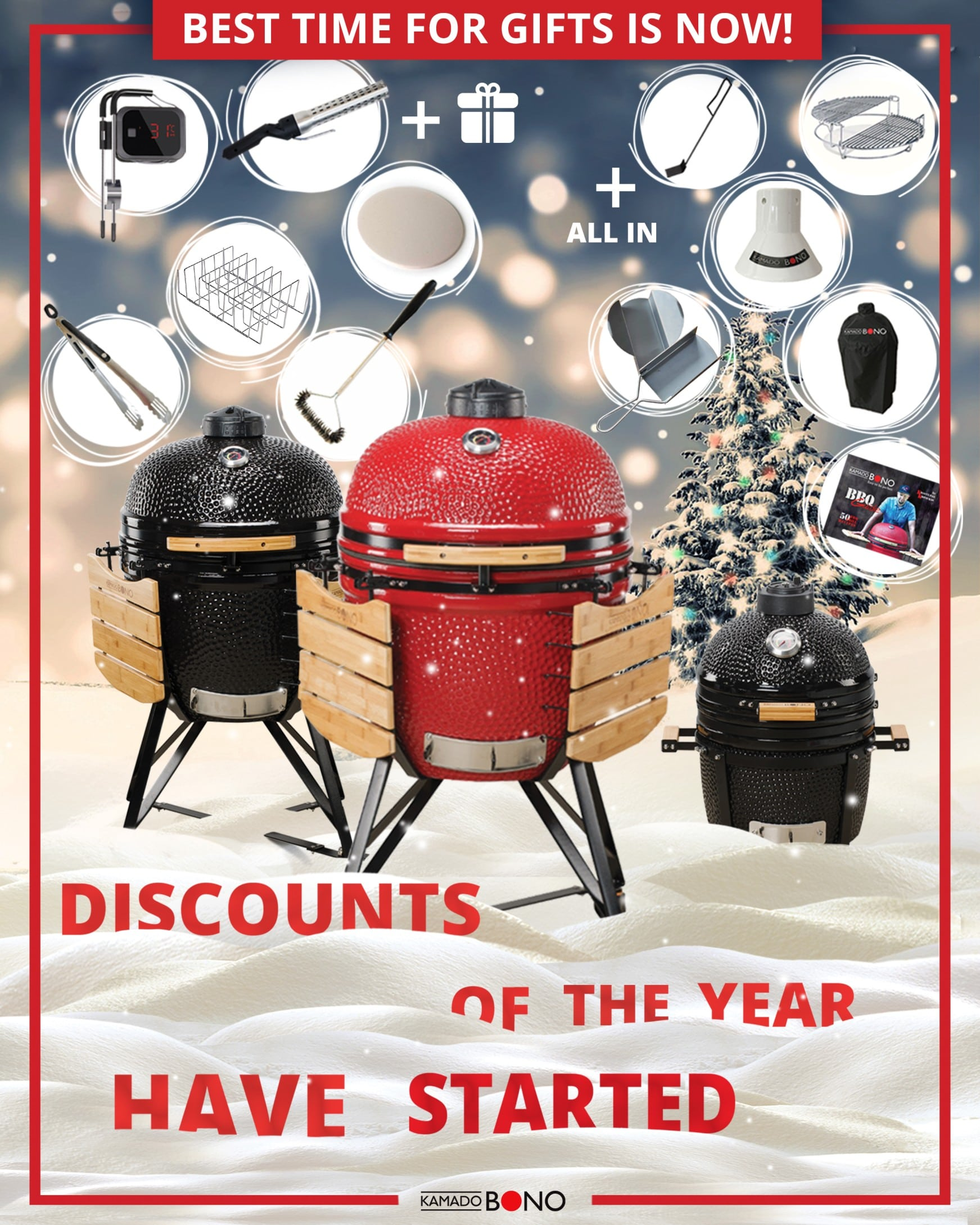 Kamado Kings Christmas Sale Starts Now!