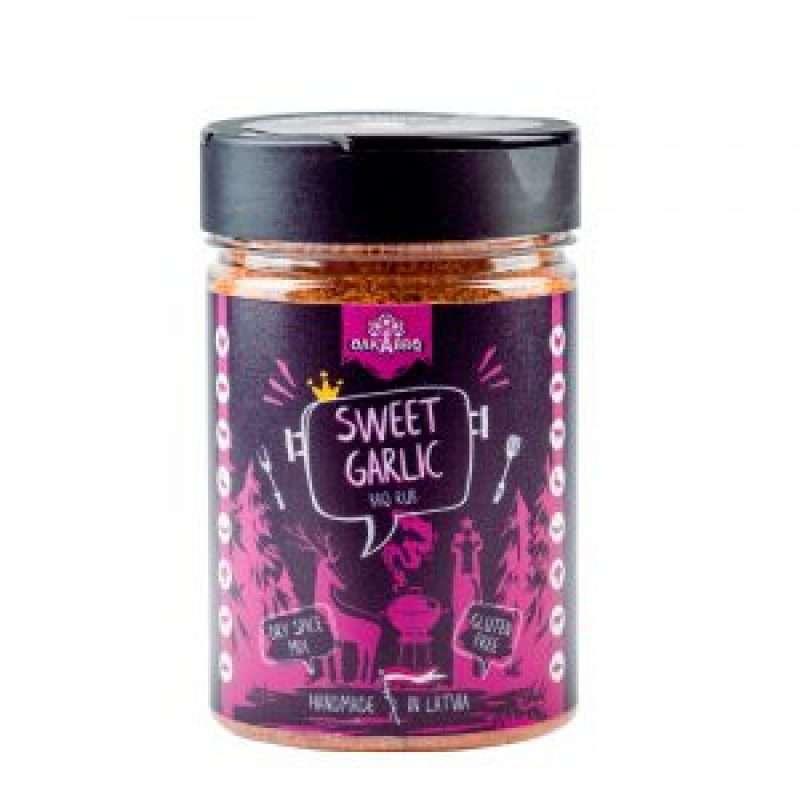 Oak'A Sweet - Garlic BBQ spice mix, 190g.