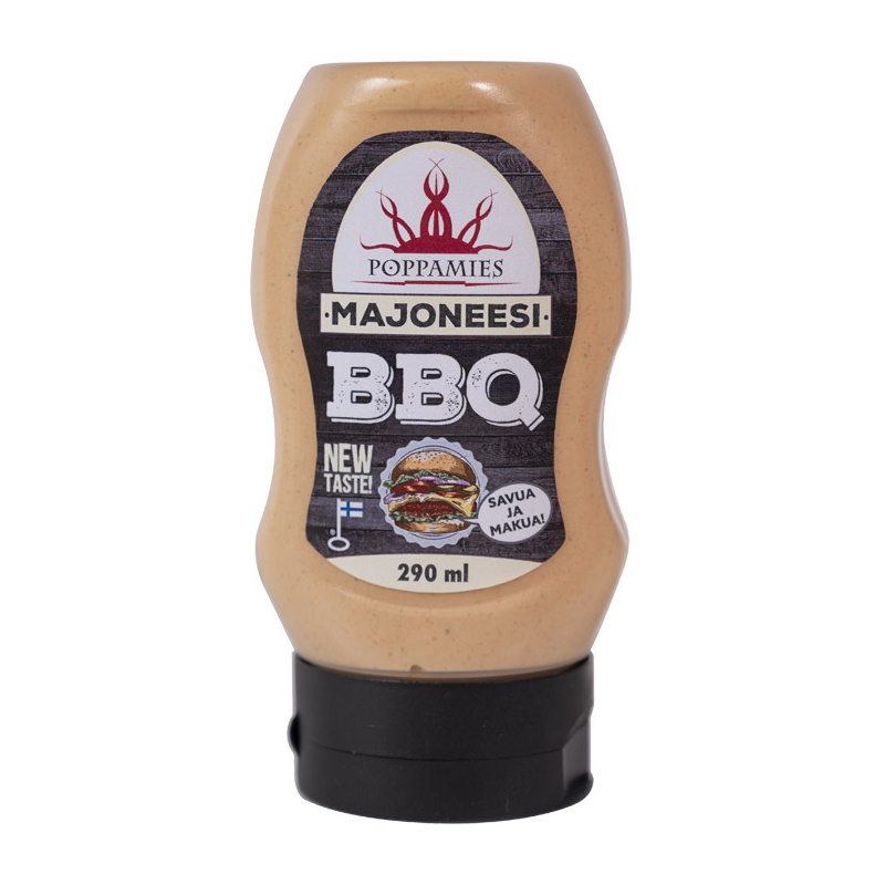 Poppamies BBQ mayonnaise sauce, 290 ml.