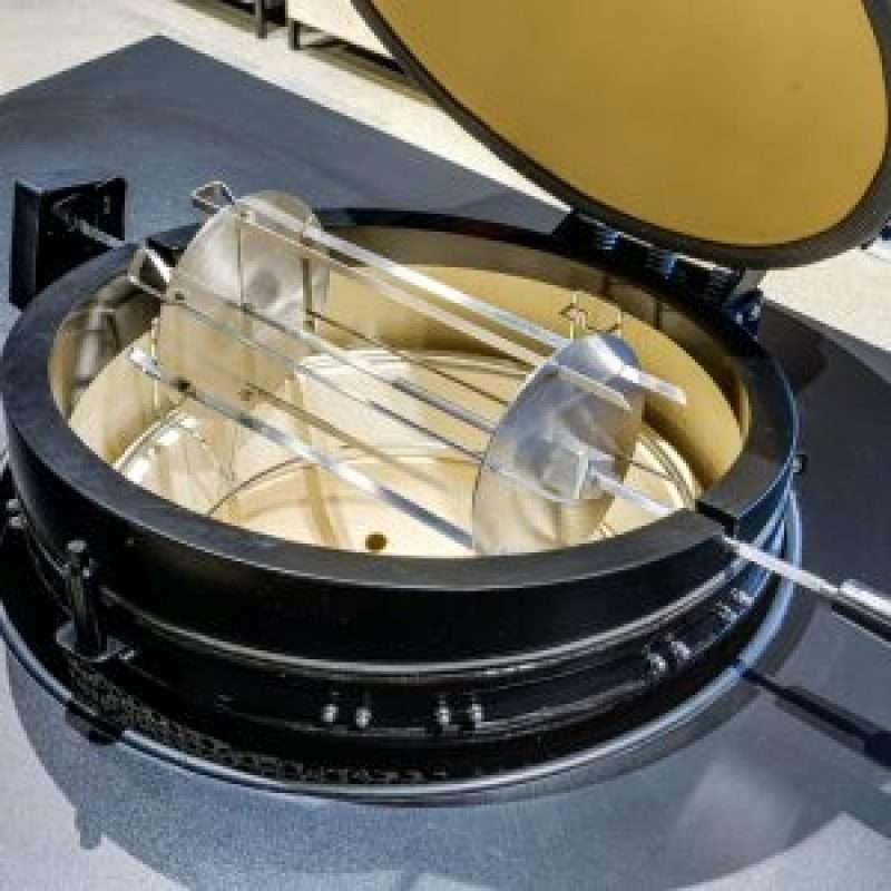 Set of rotating skewers (Media/Žalgiris)