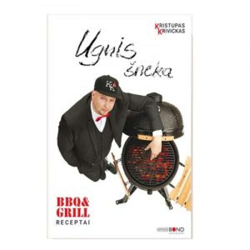 "Kristupas Krivickas recipe book ""Fire speaks, smoke whispers"""