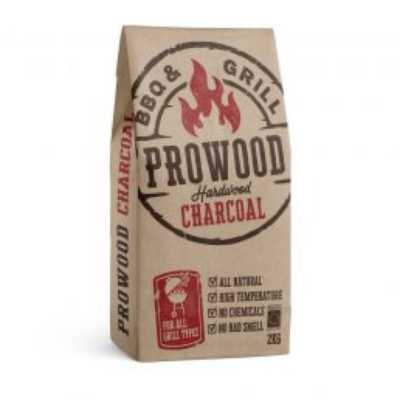 Prowood charcoal, 2 kg.