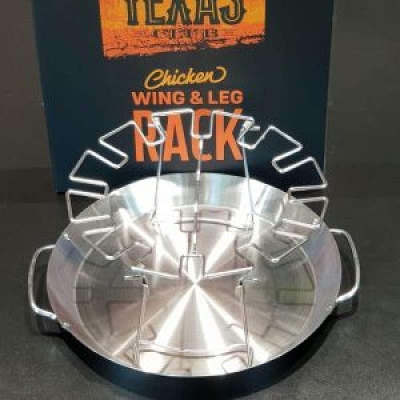 Texas Club Chicken Wing And Leg Rack